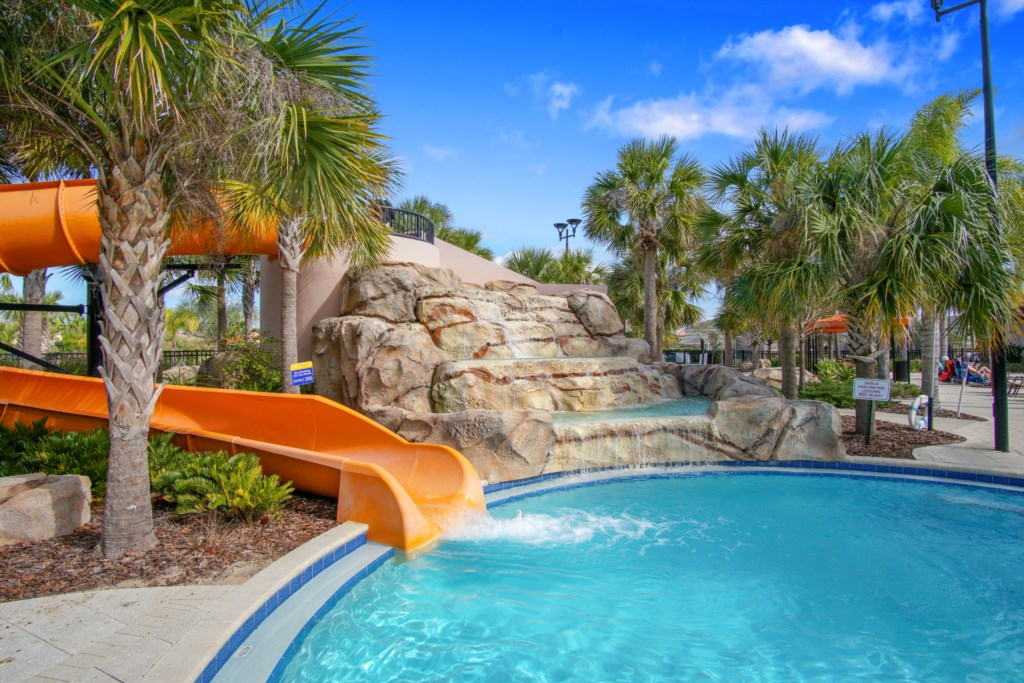 Clubhouse Water Slide