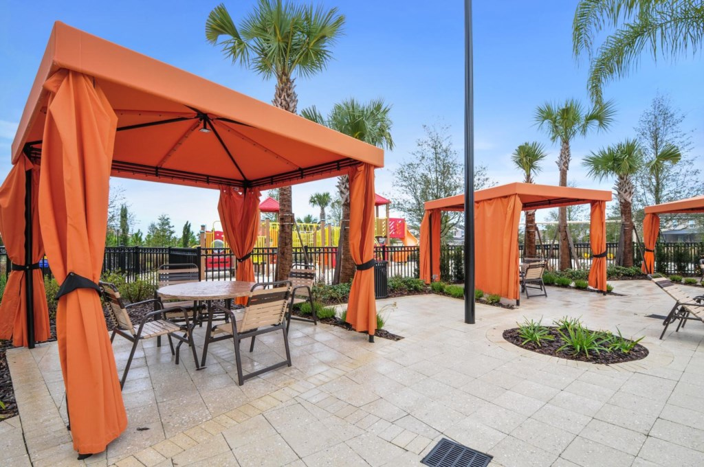 Clubhouse Cabanas
