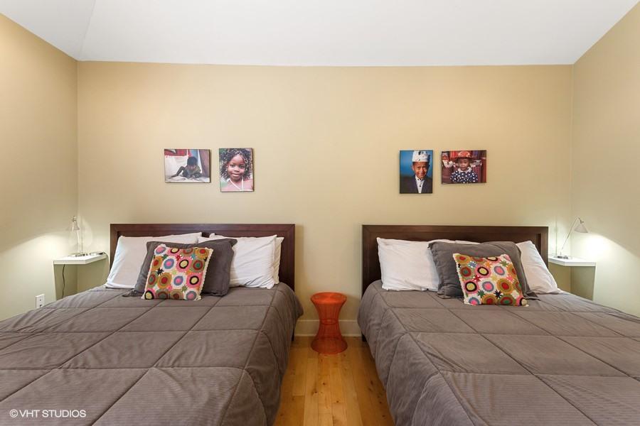 Bedroom #3 (Two Queens) Second Floor