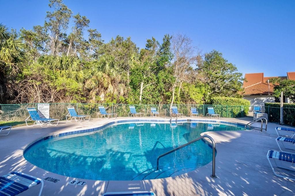 Villa pool -