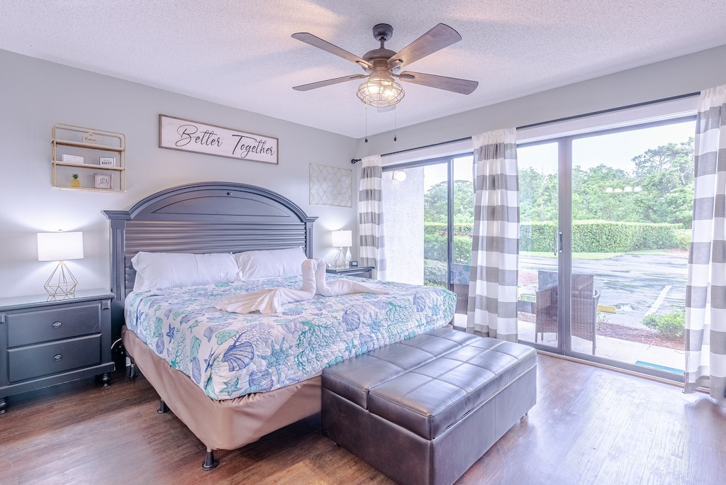 Master Bedroom  - offers king bed