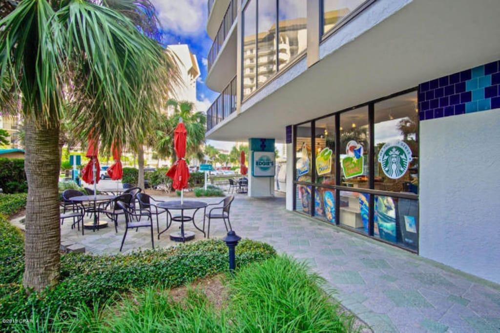 Edgie's Market/ Starbucks