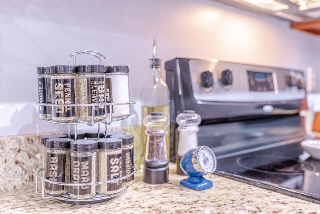 Everything you will need for meal prep inside the villa