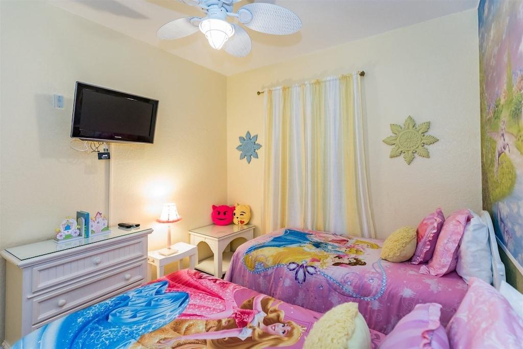 Twin Princess Room