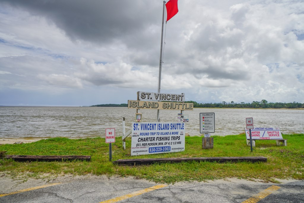 Indian Pass boat launch and access to St. Vincent Island
