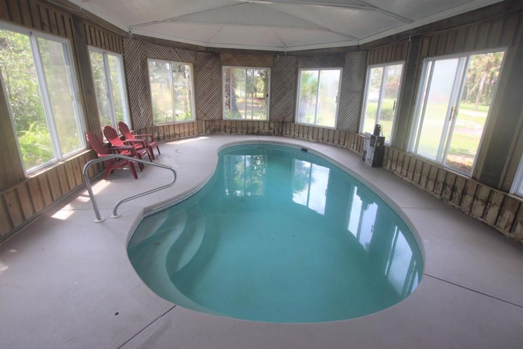 Large enclosed pool