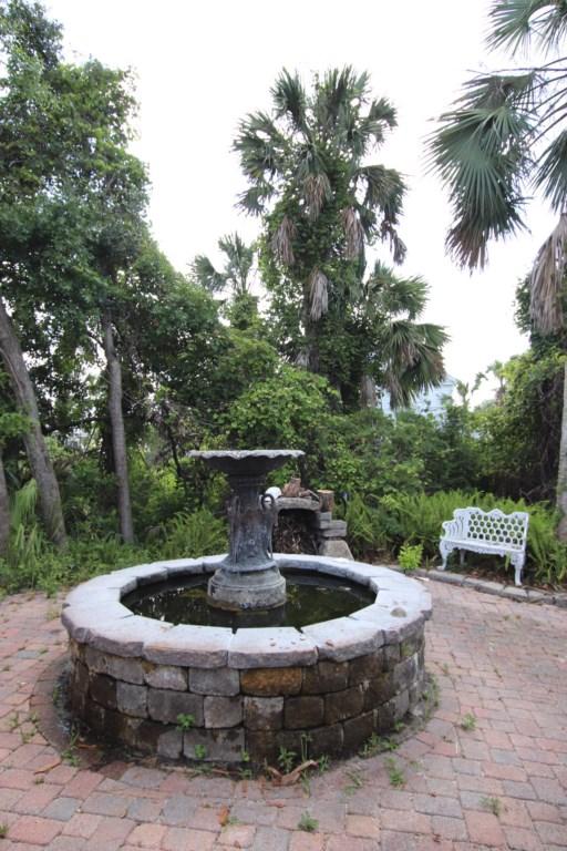 Enjoy serene garden views
