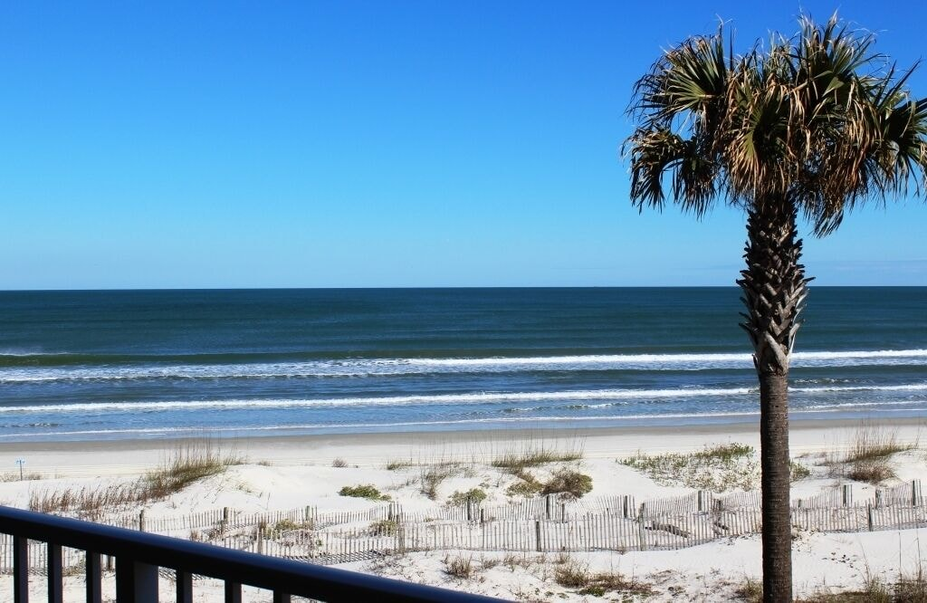 Best view on the beach from your private balcony!