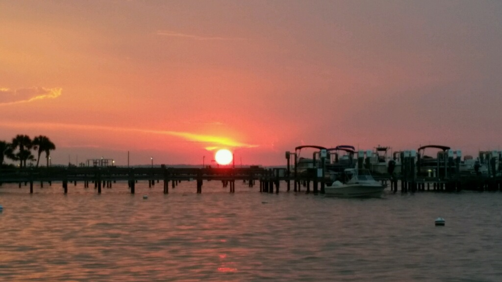 Take in a spectacular Florida sunset