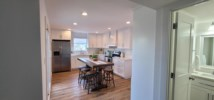 Newly remodeled open kitchen