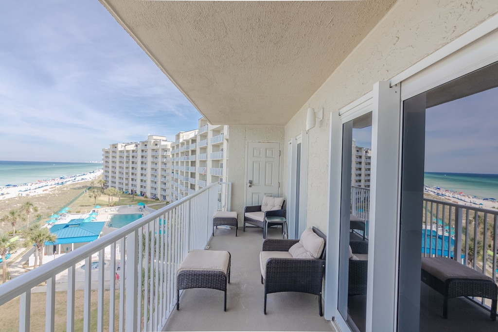 Balcony with that amazing gulf view