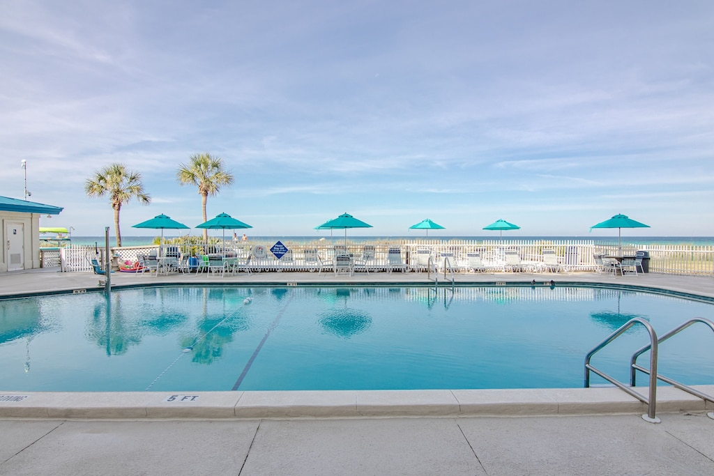 pool on property