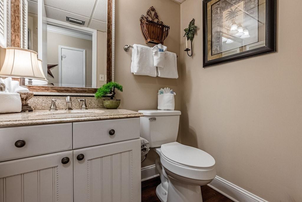 Bathroom 1 offers shower