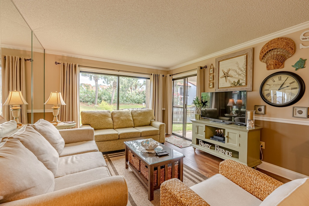 Living Room offers plenty of seating
