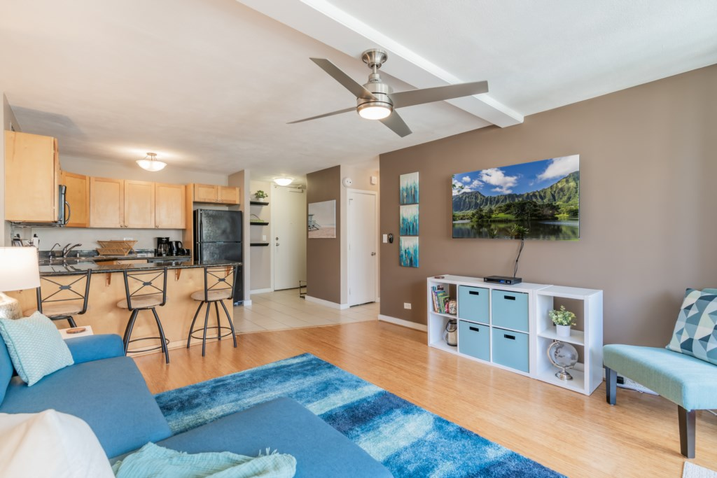 Living / Kitchen Space