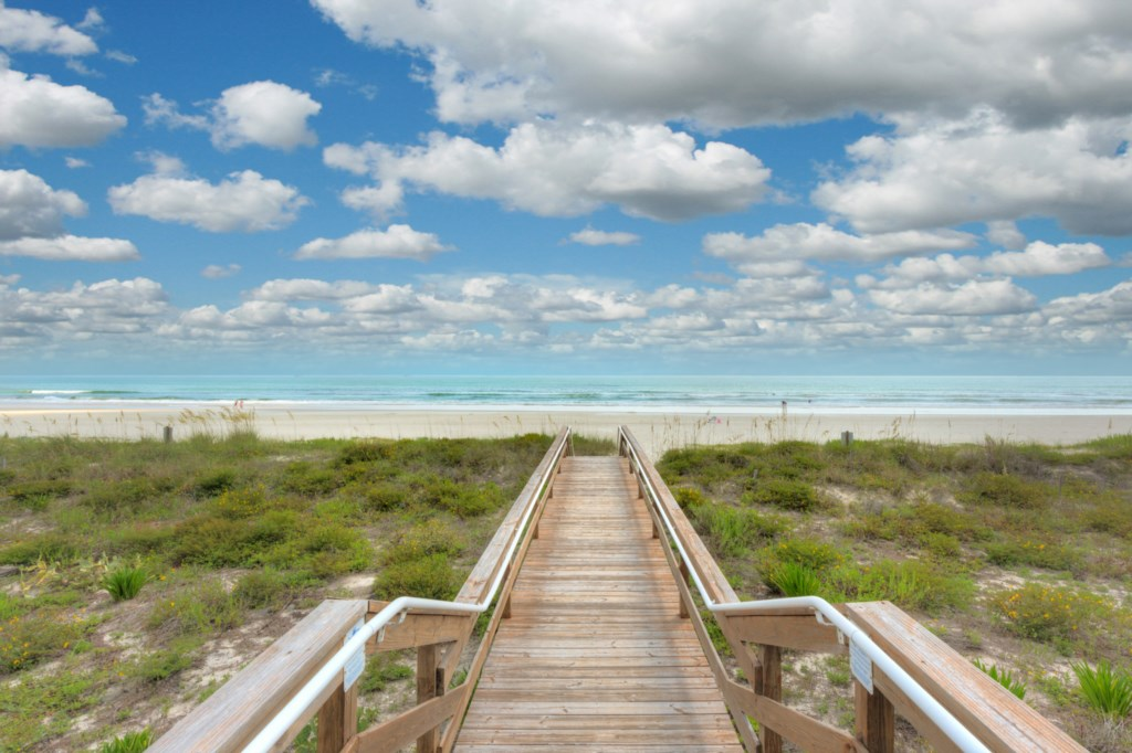 Steps Away from Paradise and Warm Sand on your Toes
