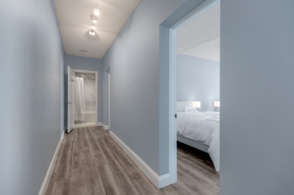Hallway from Bedroom to Bathroom