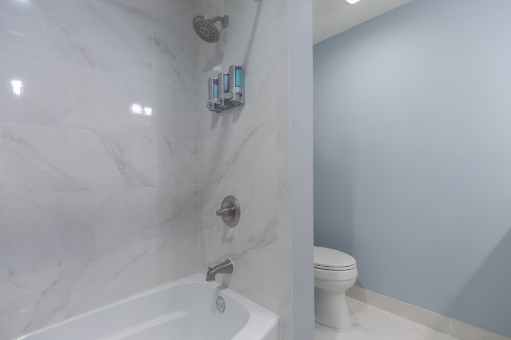 Upgraded European Shower Tub