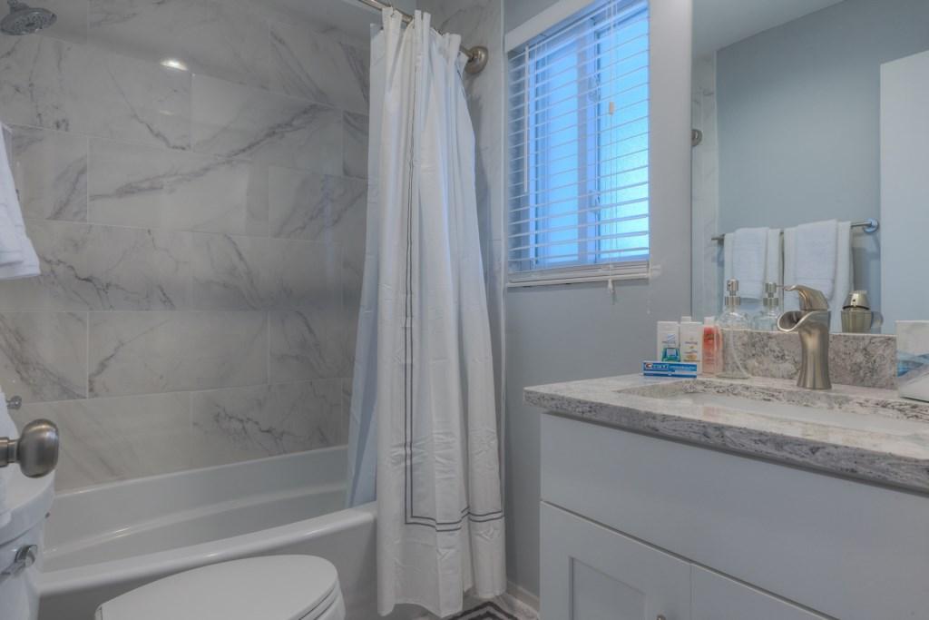 Upgraded European Design Bathroom