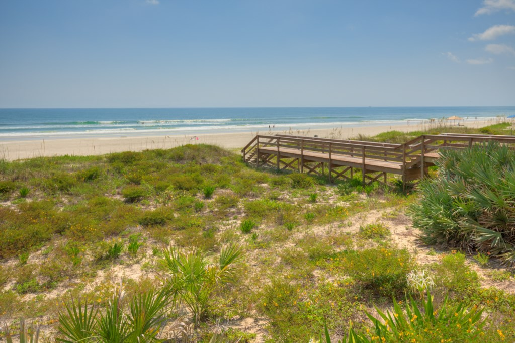 Walkway to Warm Sand on your Toes