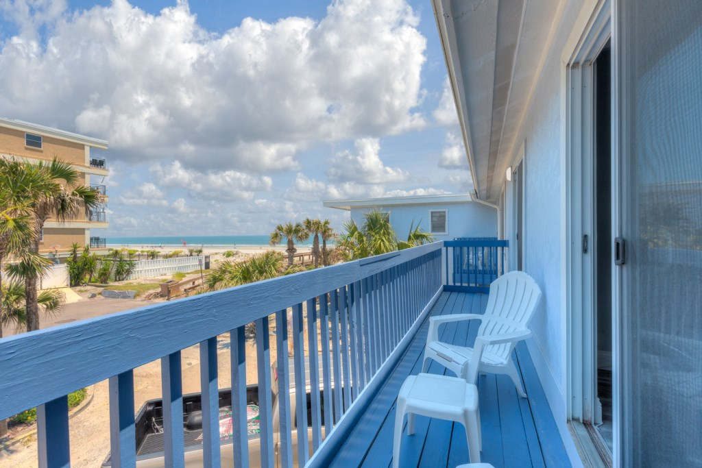 Partial Ocean Views - Great for Morning Coffee