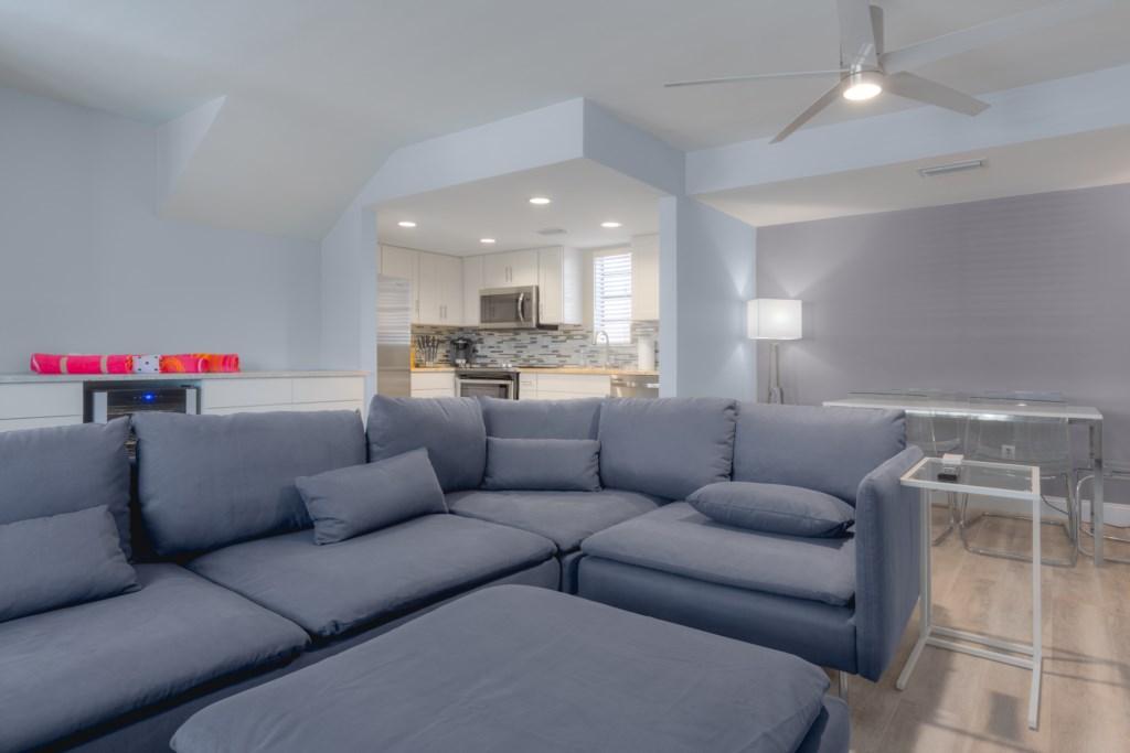 Designer Sofa - Perfect for Movie Night