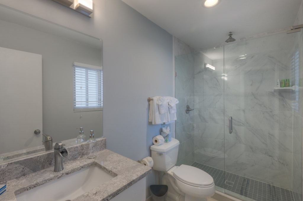 Beautifully Updated Bathrooms