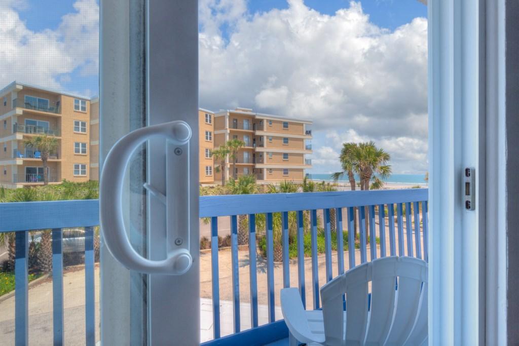 Open Those Doors for Freash Ocean Breeze!