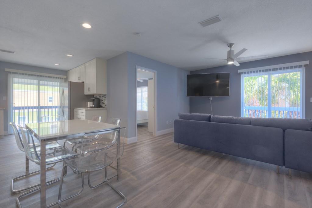 Luxury Open Space Living Room