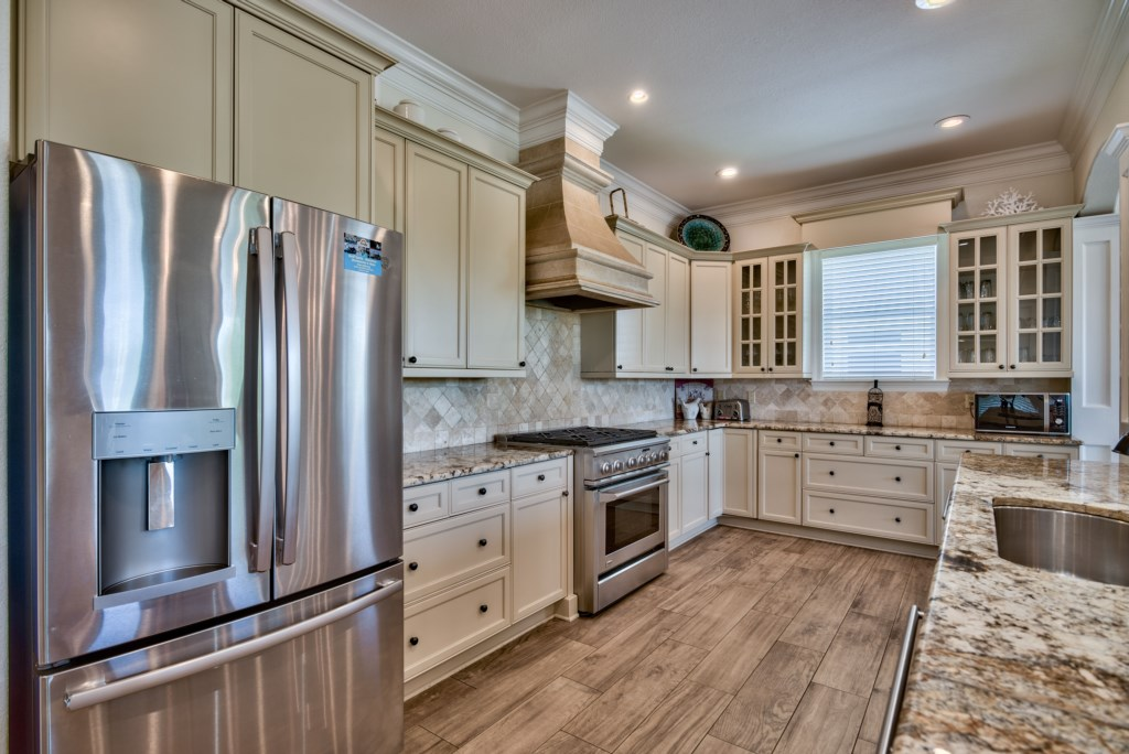 This well appointed Home features a Gourmet Kitchen