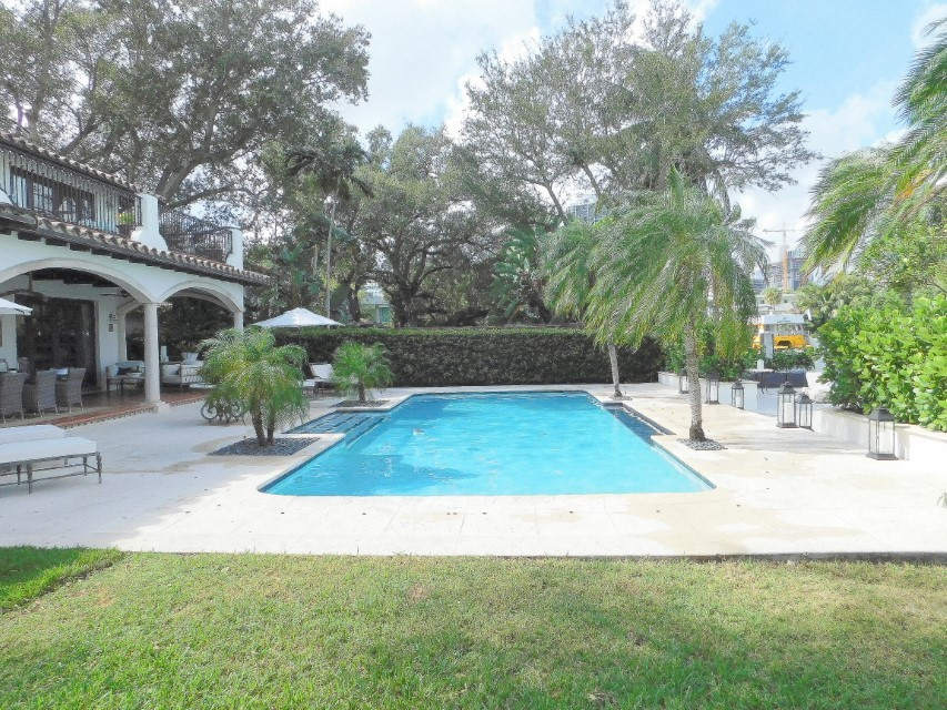 OLYMPIC SIZE HEATED SALT WATER POOL