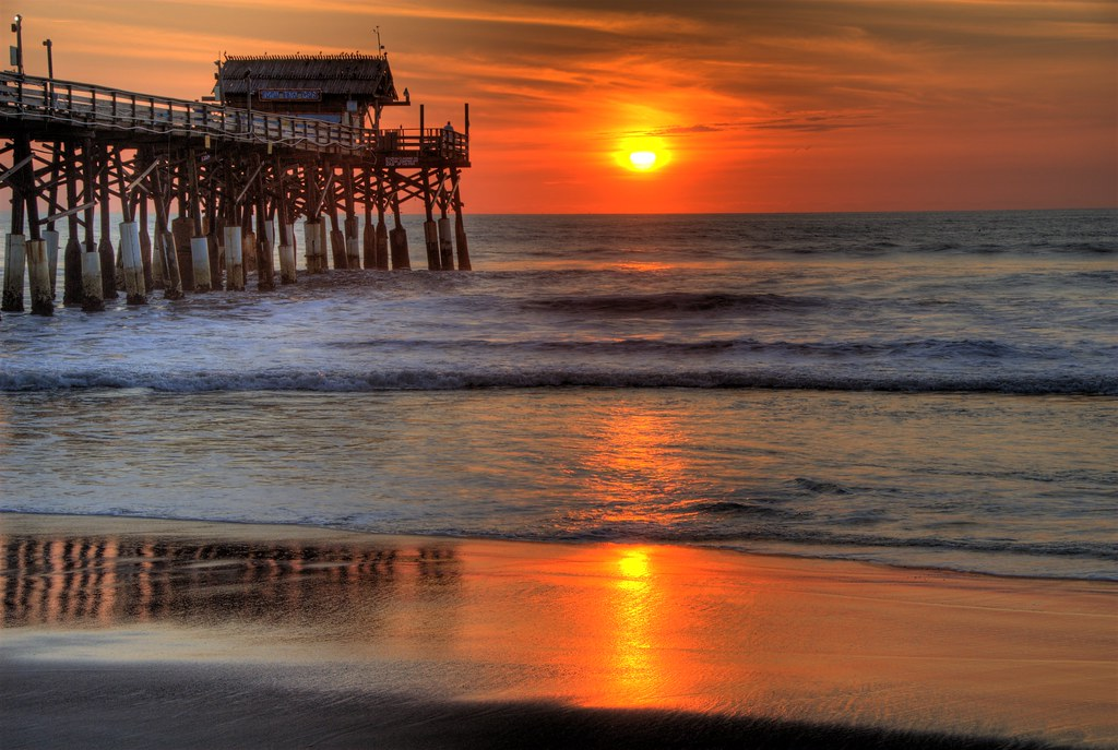 Cocoa Beach Sunrise by the Pier