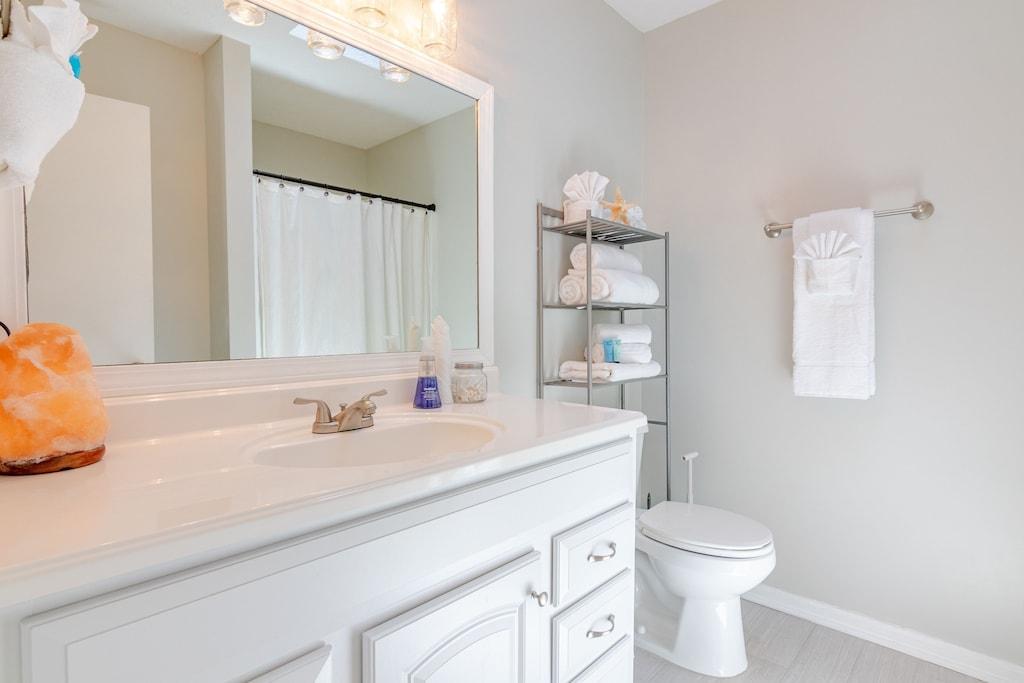 Private Bath off master suite