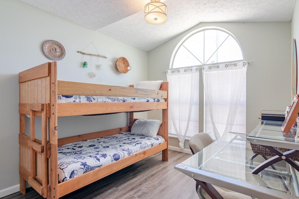 Bedroom 3 offers a queen bed