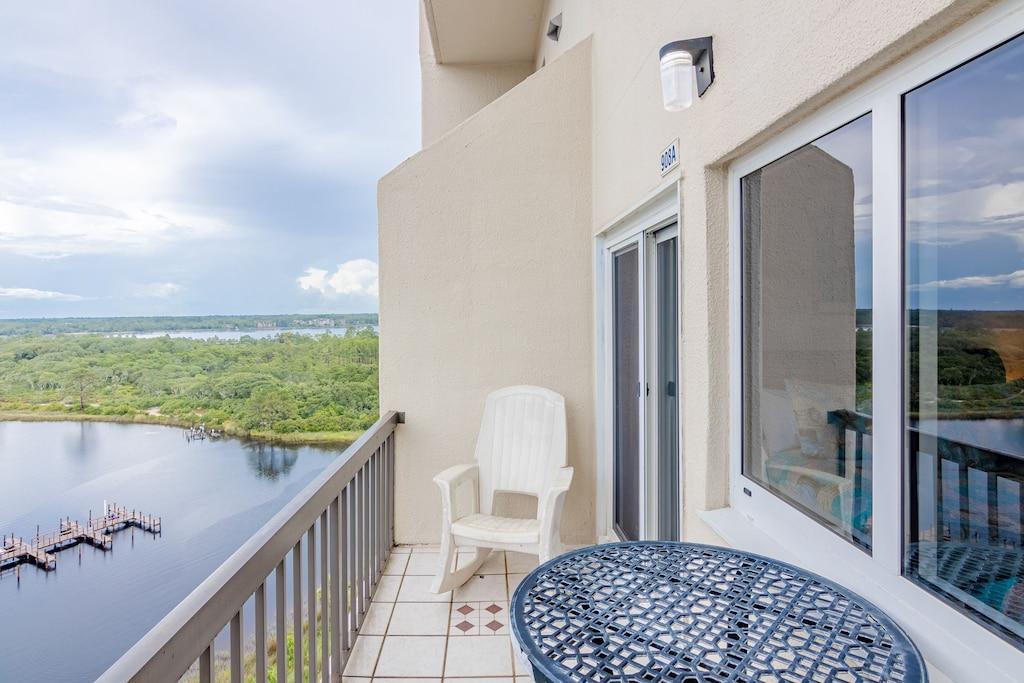 Balcony off the Master Bedroom, overlooks Lake Powell