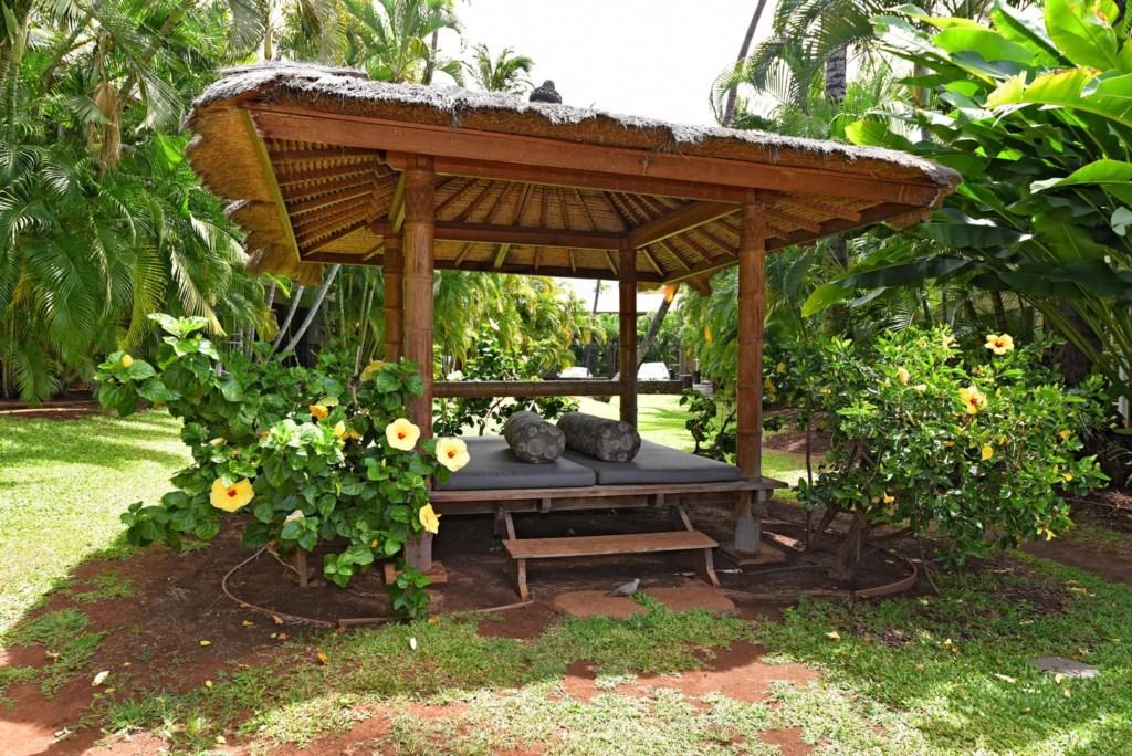 Garden Pool Cabana