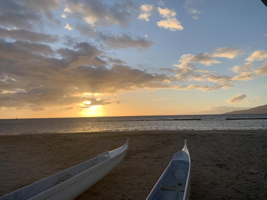 Kalepolepo Beach Sunset