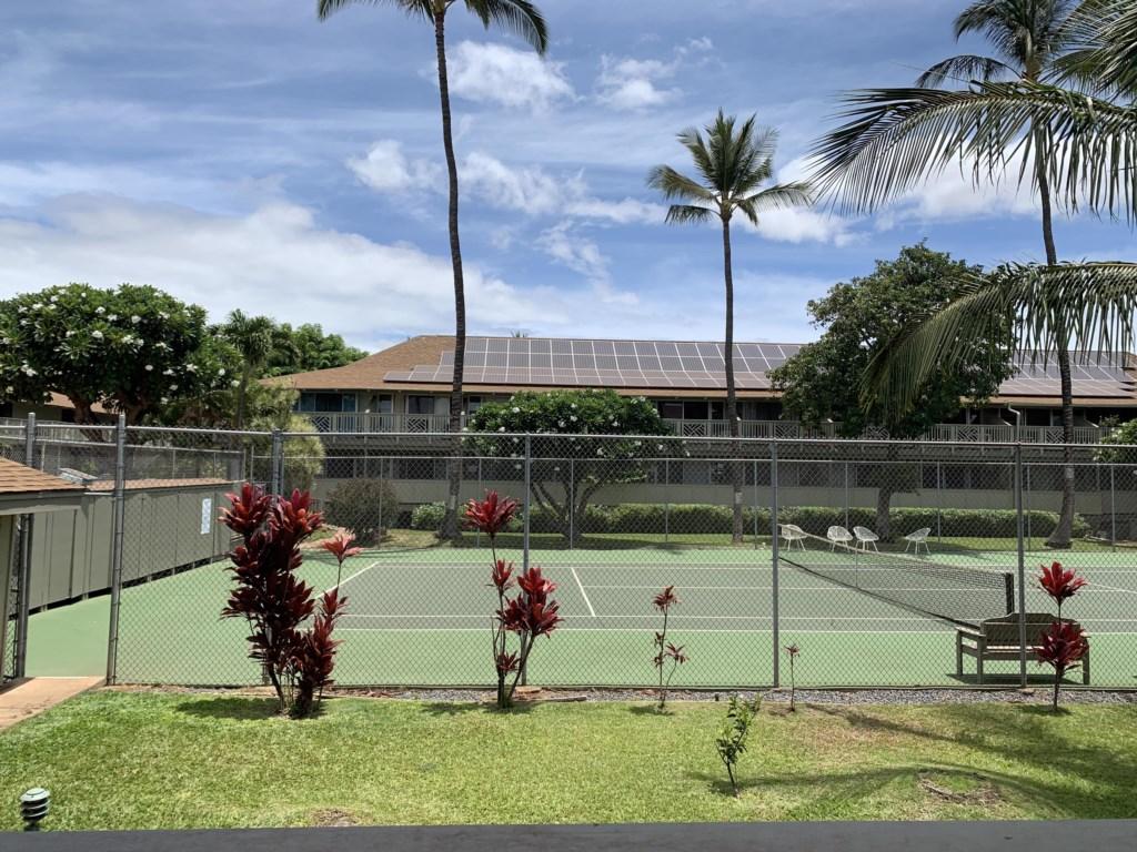 Tennis Court - Lanai View