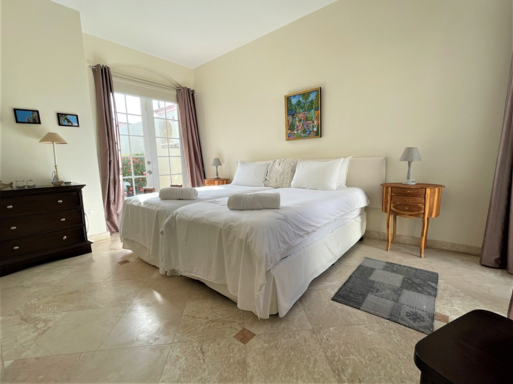 King Bedroom with Air Conditioner