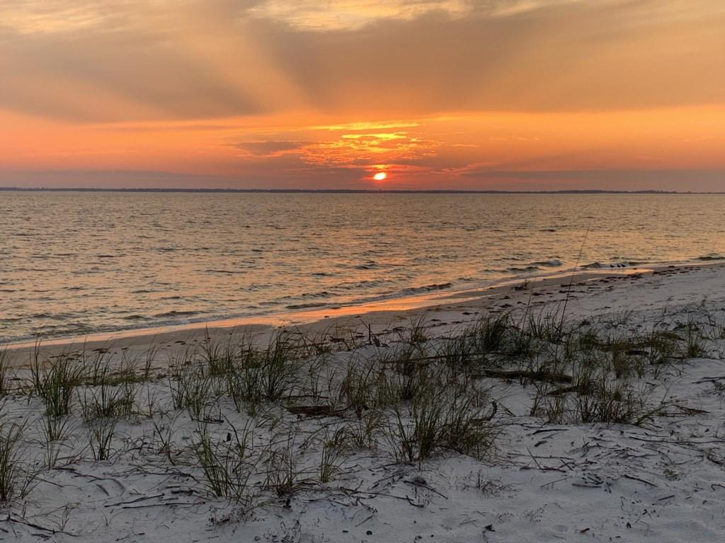 Enjoy stunning sunsets along The Forgotten Coast