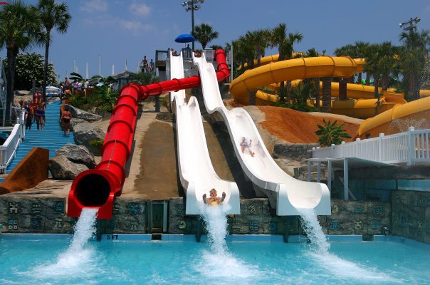 Take a trip to the Waterpark