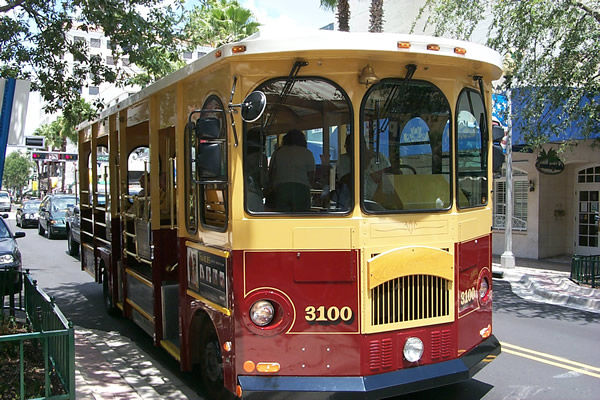 Free Towntown Trolley