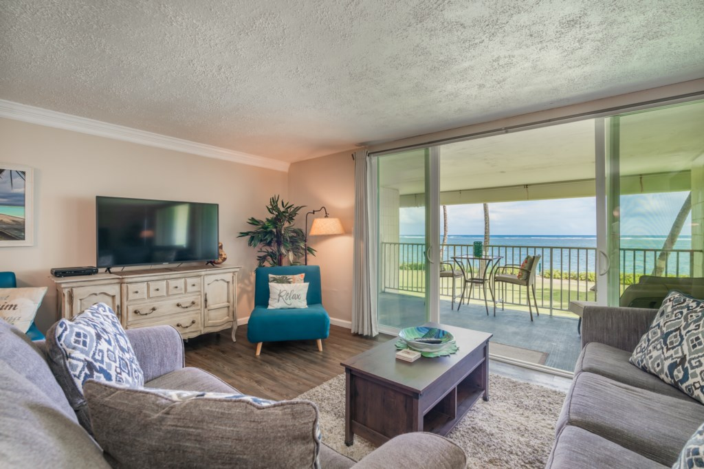 Enjoy Ocean Views From Your Living Room