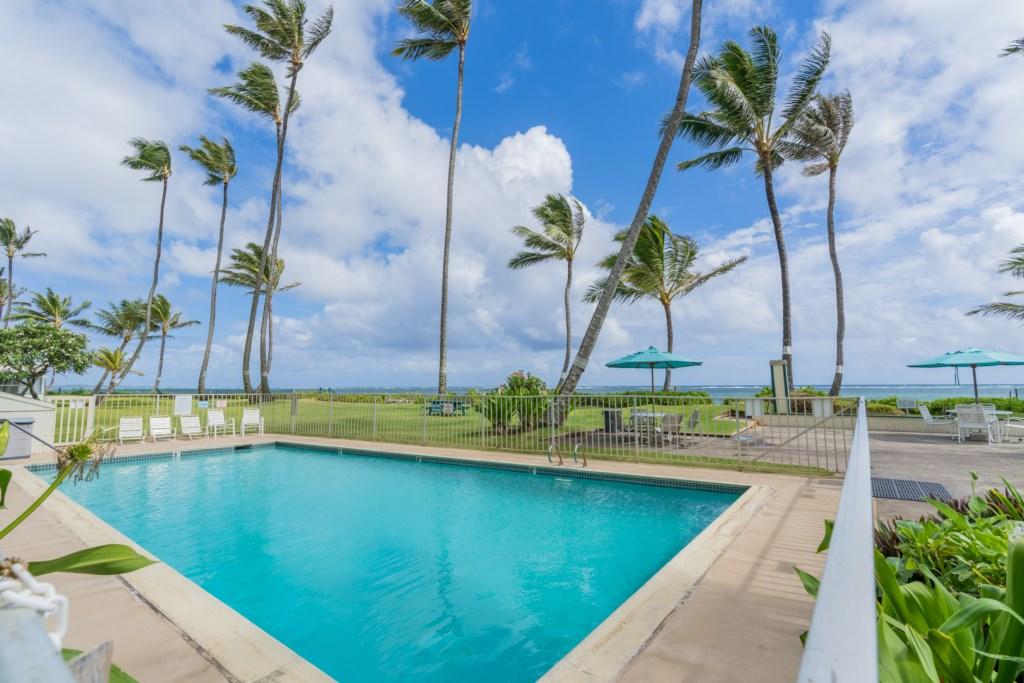 Community Pool With Ocean Views