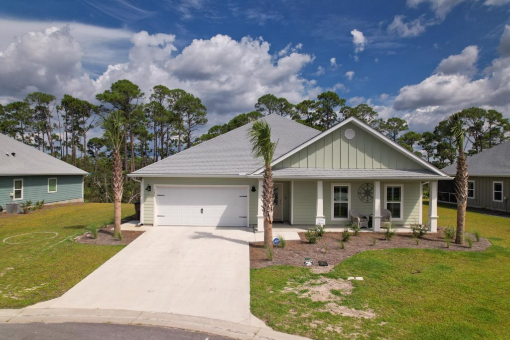 A single family beach house with resort amenities