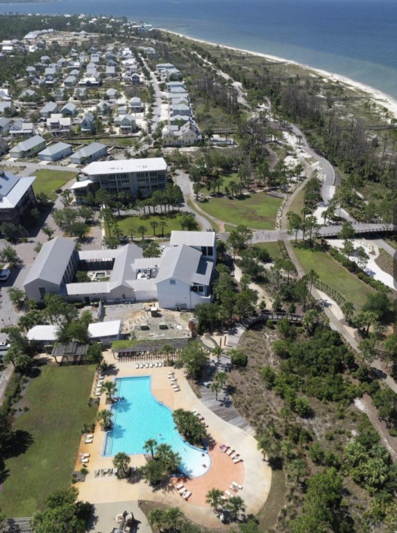 Huge, resort style community pool with easy beach access